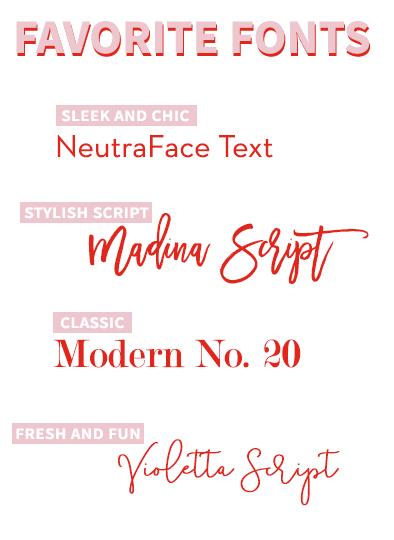 Casey_Favorite Fonts