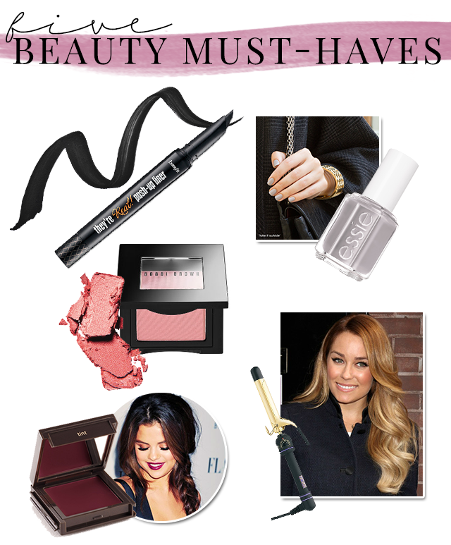 FIVE-FALL-BEAUTY-MUST-HAVES