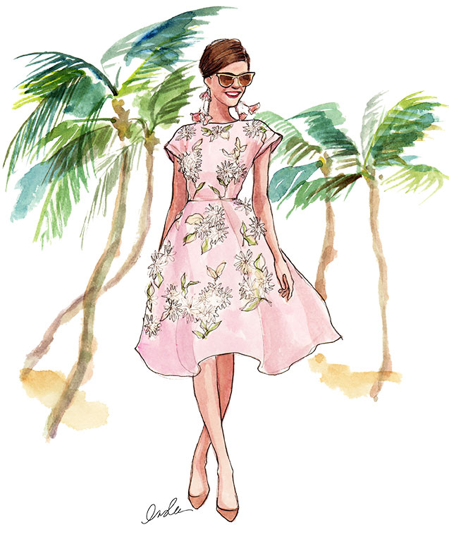 INSLEE HAYNES_WATERCOLOR_SPRING_FASHION