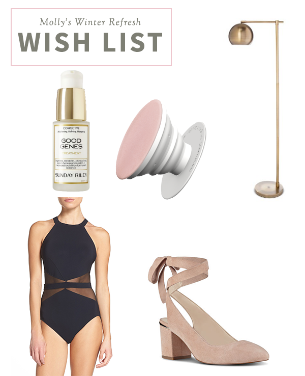MOLLY WINTER WISH LIST