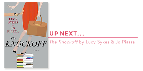 THE-KNOCKOFF_LUCY-SYKES-JO-PIAZZA_BOOK-COVER
