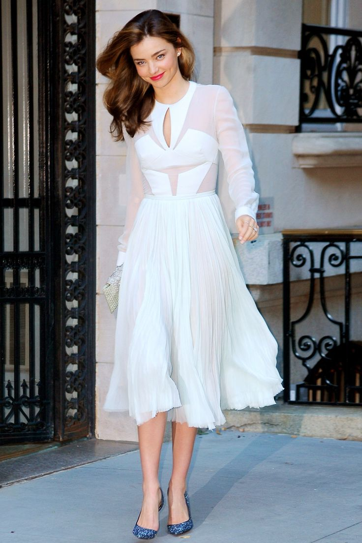 Style Crush: Miranda Kerr | Work That Skirt!